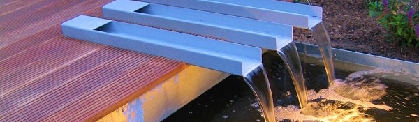 Apa ca element decorativ in proiectele de amenajari gradini
