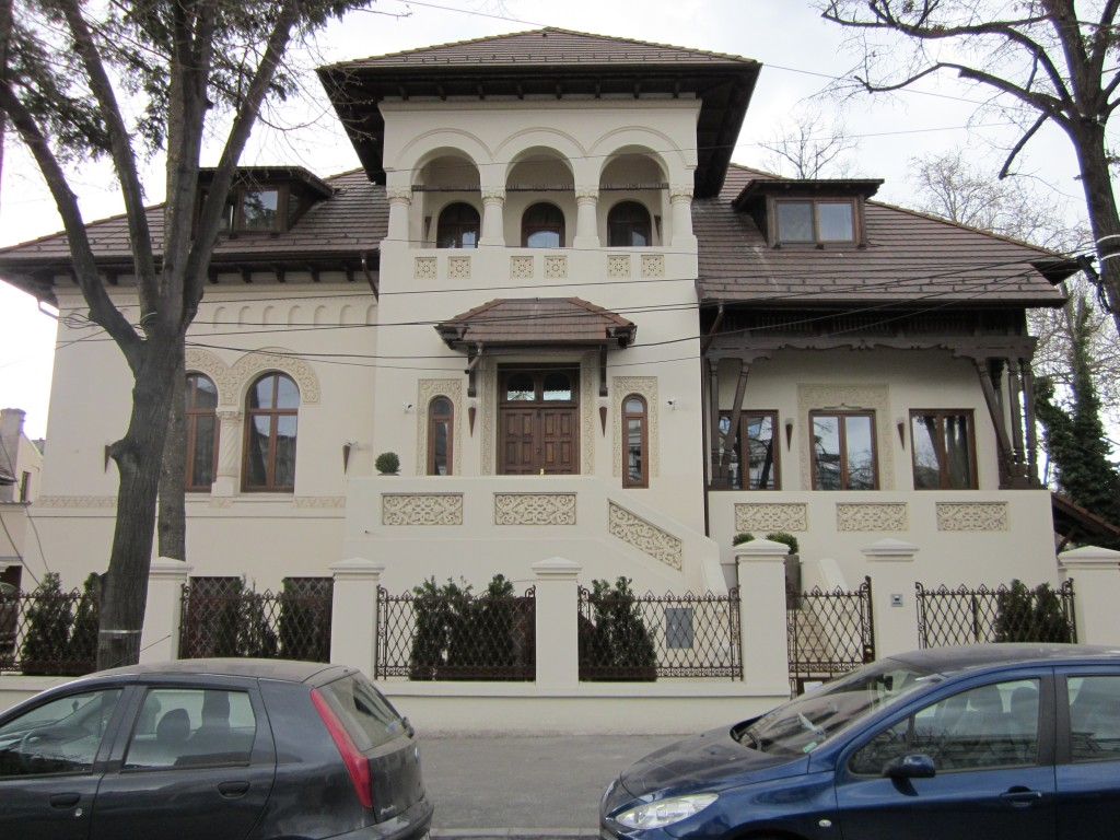 Casă în stil neoromânesc, Bucureşti, Str Tirana