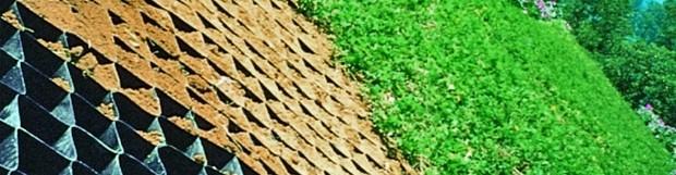 Stabilizarea şi prevenirea eroziunii pantelor naturale