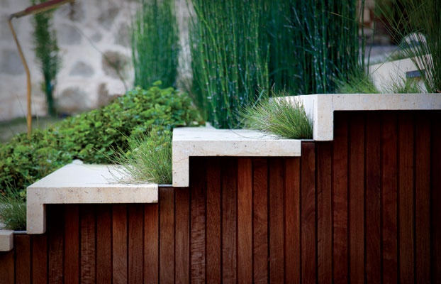 Gorgeous Stair Details Photos. Rooftop Oasis - Garden and Gun