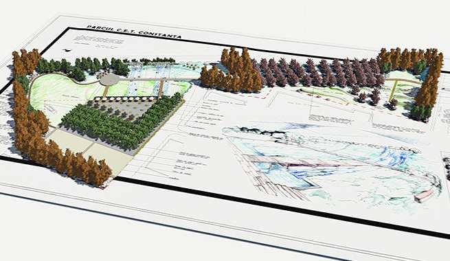 Portofoliu proiecte gradini, Amenajari Gradini